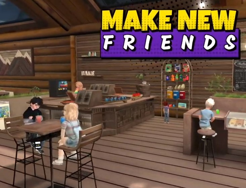 CV - make new friends